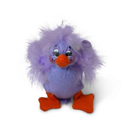 Annalee Dolls 2019 Spring Lavender Duck 3in Plush New with Tags