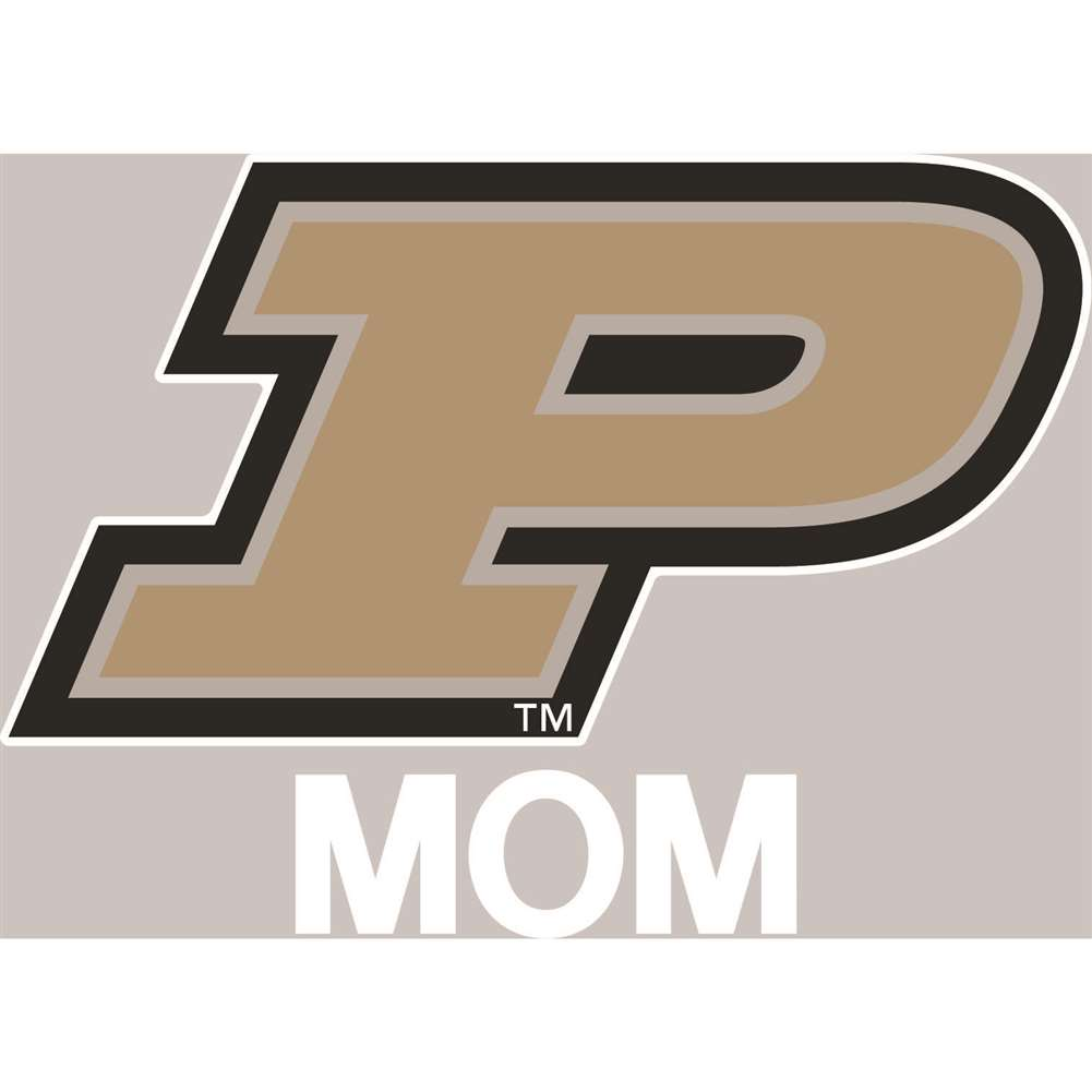 Purdue Boilermakers Transfer Decal - Mom