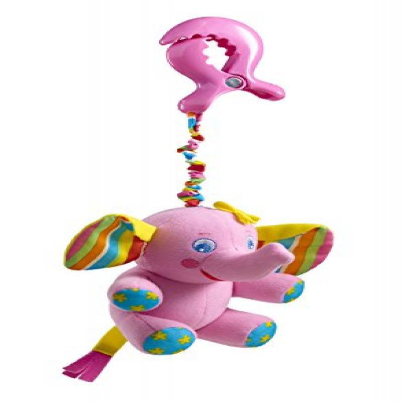 Tiny Love Tiny Smart Rattle, Pink Elephant by Tiny Love