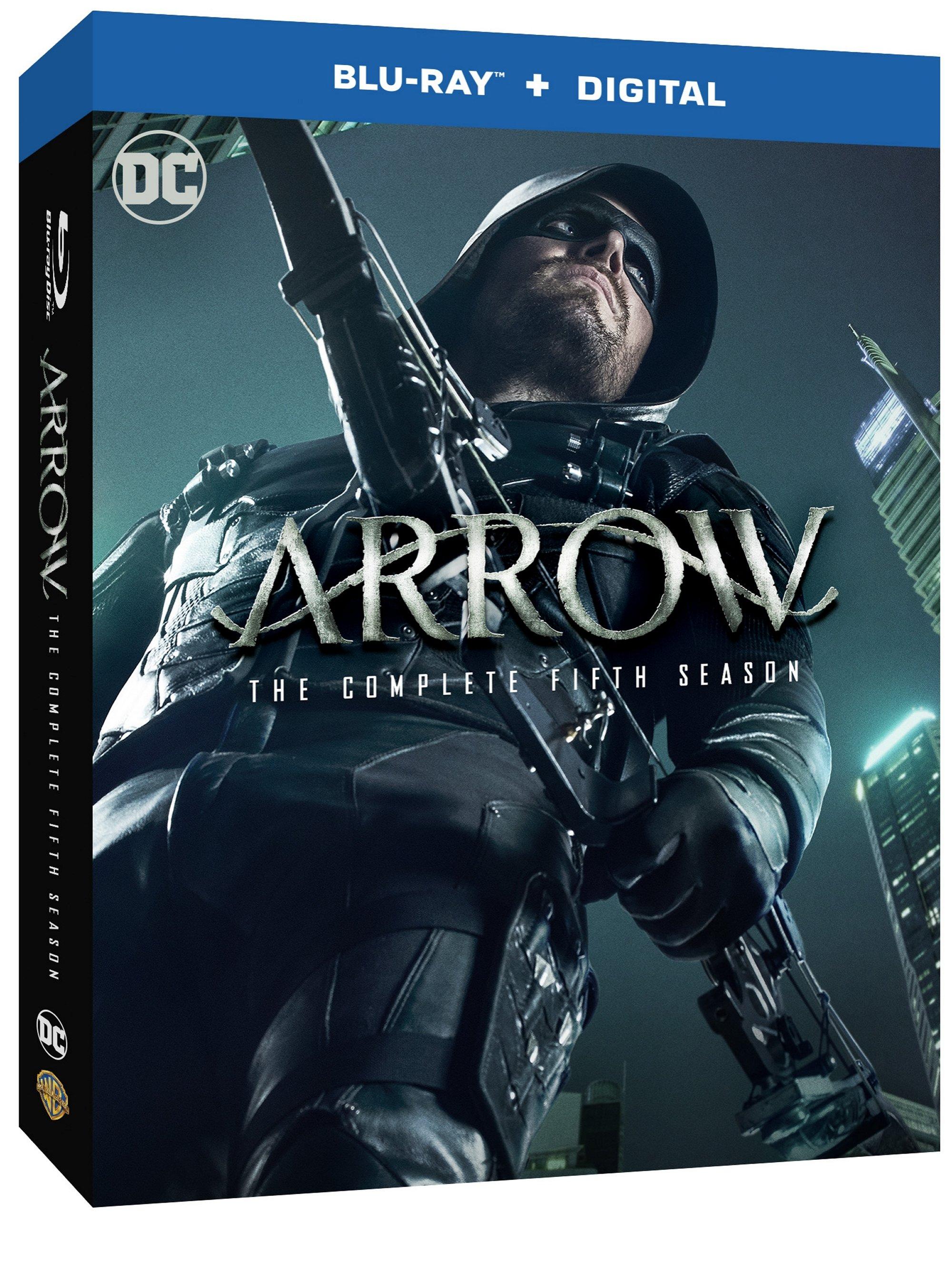Arrow: The Complete Fifth Season (Blu-ray + Digital HD) by WARNER HOME VIDEO