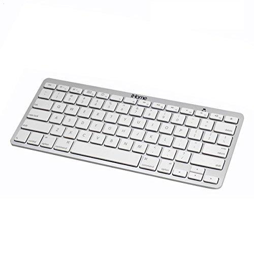 iHOME IMAC-K111S - Keyboard - Bluetooth - silver