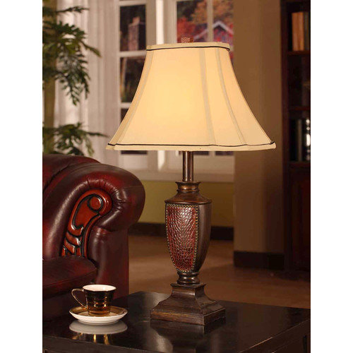Beaded Edging Table Lamp (Set of 2) [Set of 2]