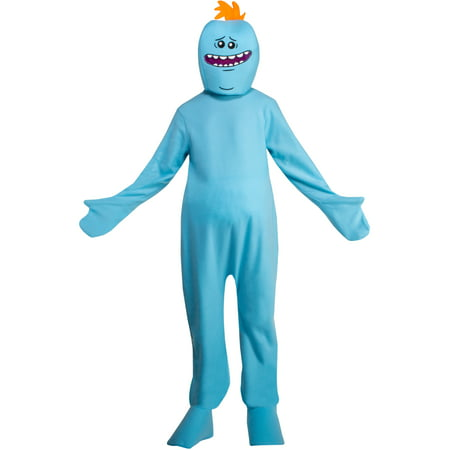 Rick And Morty Mr Meeseeks Mens - Rick Halloween Costume Rick And Morty