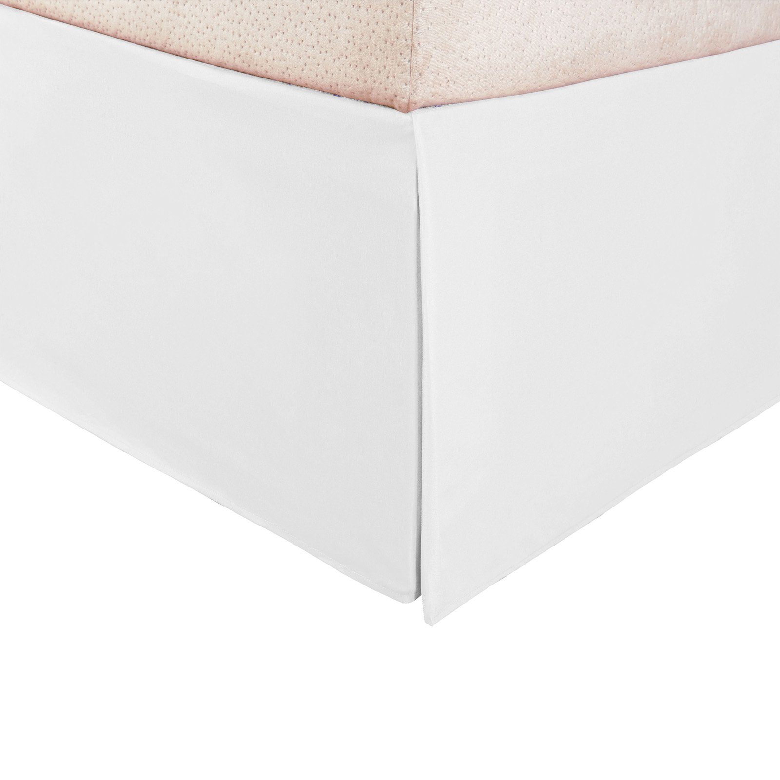 Superior 1500 Series Microfiber Pleated, Wrinkle Resistant, Platform Solid Bedskirt with... by Home City Inc
