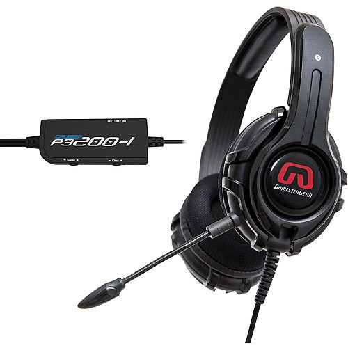 Syba OG-AUD63085 GamesterGear Cruiser P3200-I Stereo Headsets for PS4, PS3 Game Console and PC