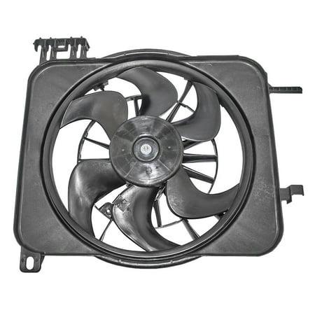 Radiator Cooling Fan Motor Assembly 24Replacement for Chevrolet Cavalier Pontiac Sunfire 22136897 2001 Chevrolet Cavalier Radiator