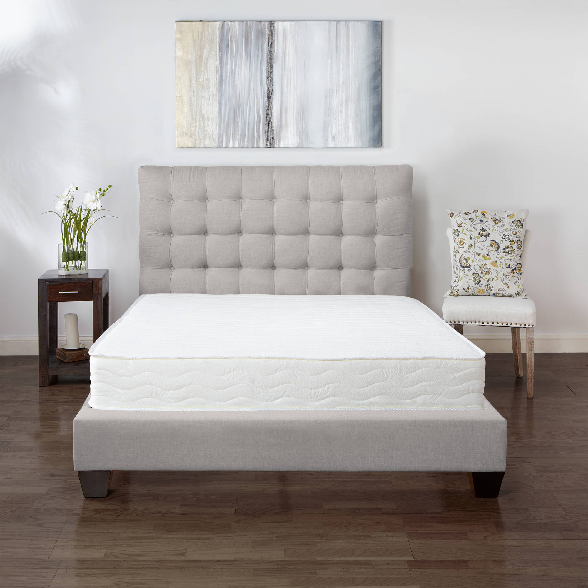 "Modern Sleep Advantage 8"" Plush Innerspring Mattress-In-a-Box, Multiple Sizes"
