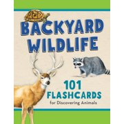 Backyard Wildlife: 101 Flashcards for Discovering Animals (Hardcover)