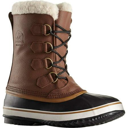 sorel men's 1964 pac t snow boot, hickory / black, 8.5 d (Best Snow Pac Boots)