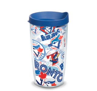 MLB Toronto Blue Jays All Over 16 oz Tumbler with lid