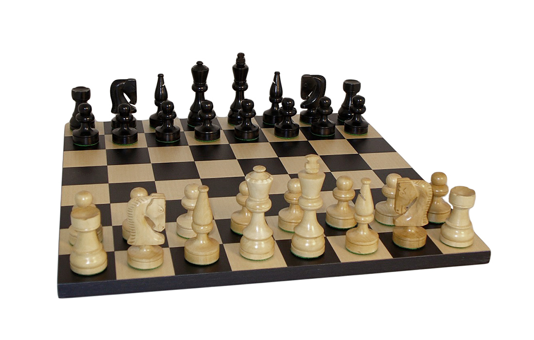 Black Russian Chess Set by World Wise Imports