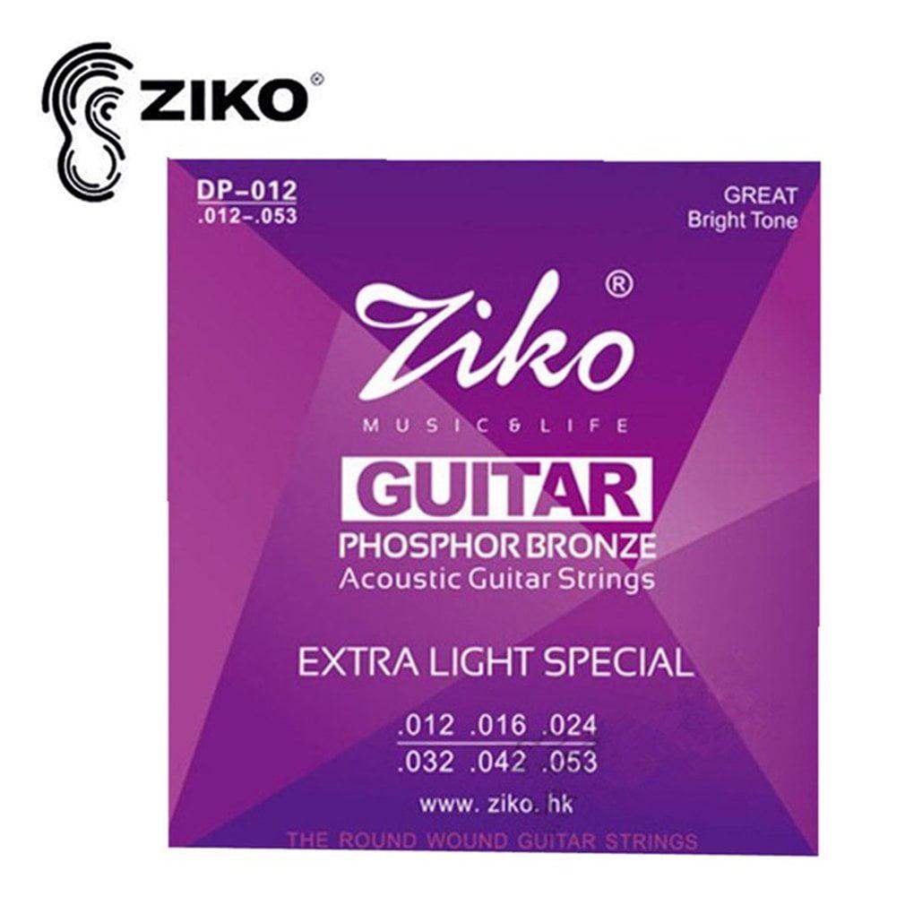 ZIKO DP 010-012 Acoustic Guitar Strings Phosphor Bronze Strings Guitar Parts