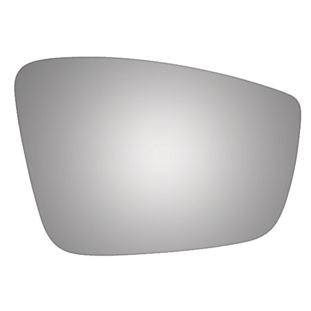 For 2011 VOLKSWAGEN BEETLE Passenger Side Glass Only Convex Mirror Glass Power