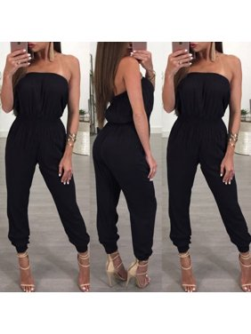 0fc6e4e2d098 Product Image New Women Ladies Clubwear Playsuit Bodycon Party Jumpsuit  Romper Trousers