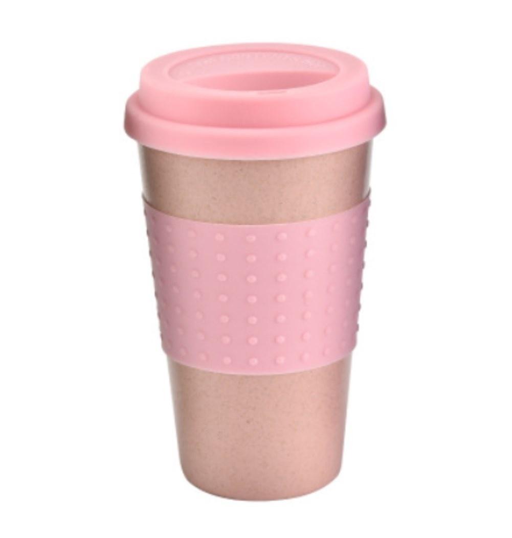 2 Coffee to Go Mug With Lid Christmas Decor Bamboo Biodegradable