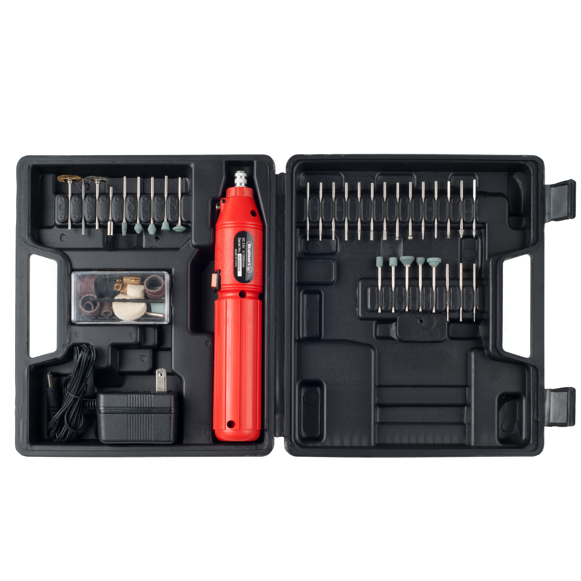60 pc 3.6V Cordless Rotary Tool Set by Stalwart