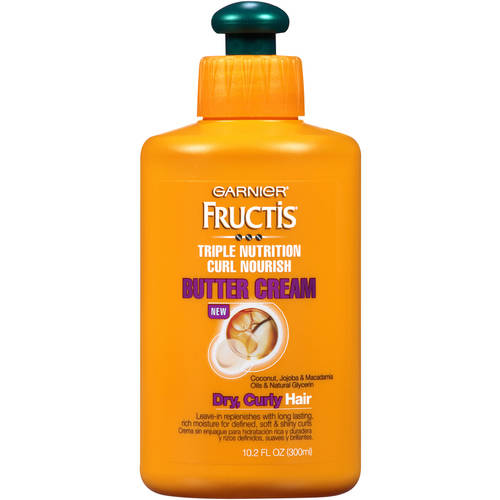 Garnier Fructis Triple Nutrition Curl Nourish Butter Cream, 10.2 fl oz