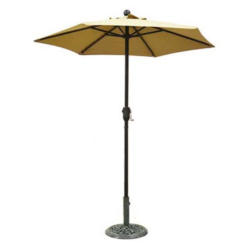 Home And Garden Hgc 6 Ft Metal Patio Umbrella With Crank