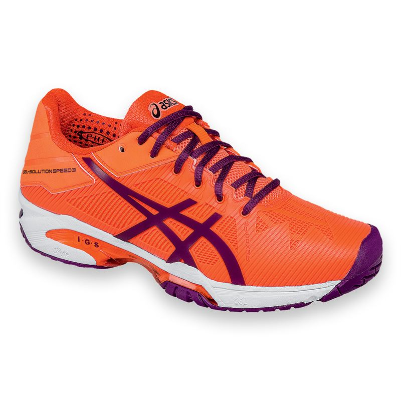 Asics Gel Solution Speed 3 Womens Tennis Shoe Size: 7