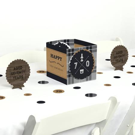 70th Milestone Birthday - Party Centerpiece & Table Decoration Kit](70th Birthday Table Decorations)