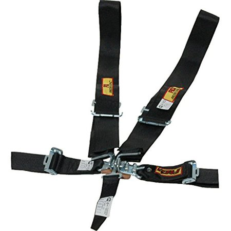 Harness System 5Pt P U L L Black 3 Dragster Belt 5Pt Latc