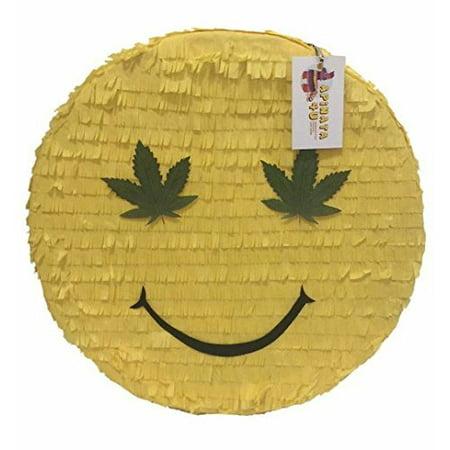 Hemp Emoticon Pinata Adult Party Favor](Adult Pinatas)