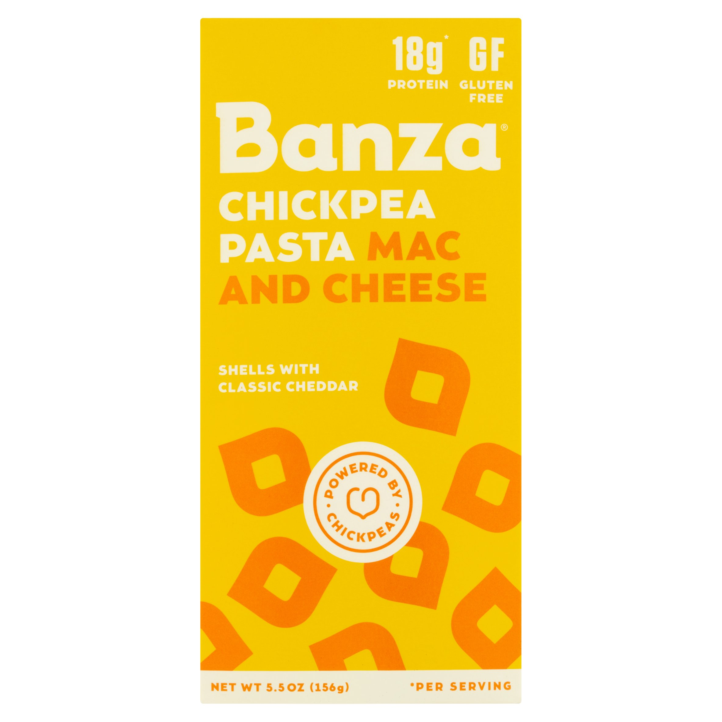 Banza Mac and Cheese Chickpea Pasta, 5.5 oz, 12 pack