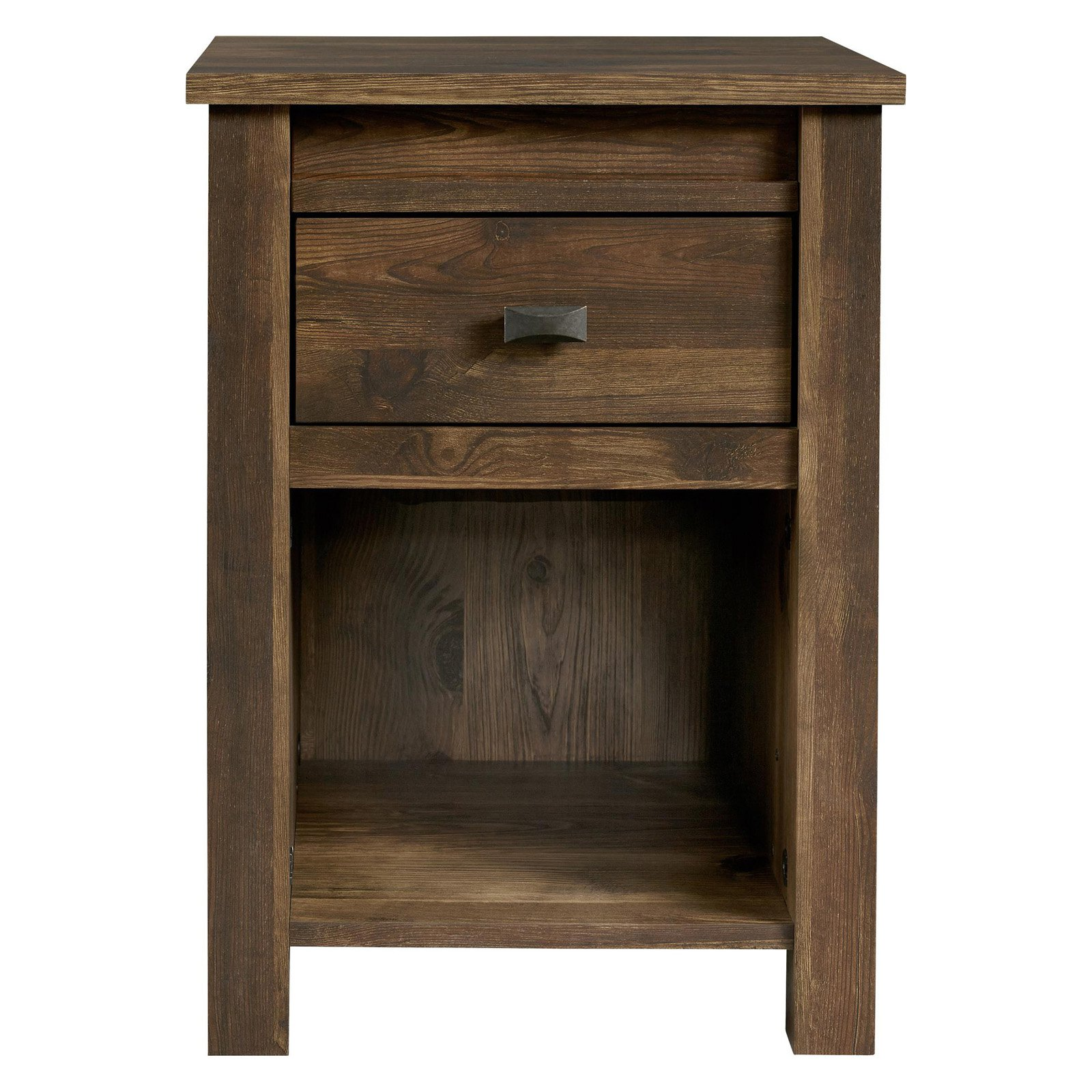 Better Homes and Gardens Falls Creek Nightstand, Weathered Dark Pine