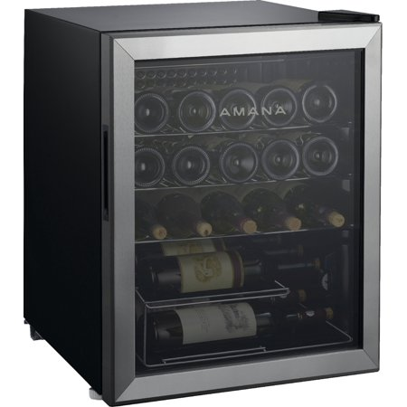Amana 25 Bottle Wine Cooler with Mechanical Temperature Control ()