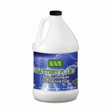 Battery Fluid (Half Gallon - Battery Fog Fluid - High Concentration Formula - Hazebase, Look Solutions, Smoke Factory & Antari Battery Powered Fog Machines)