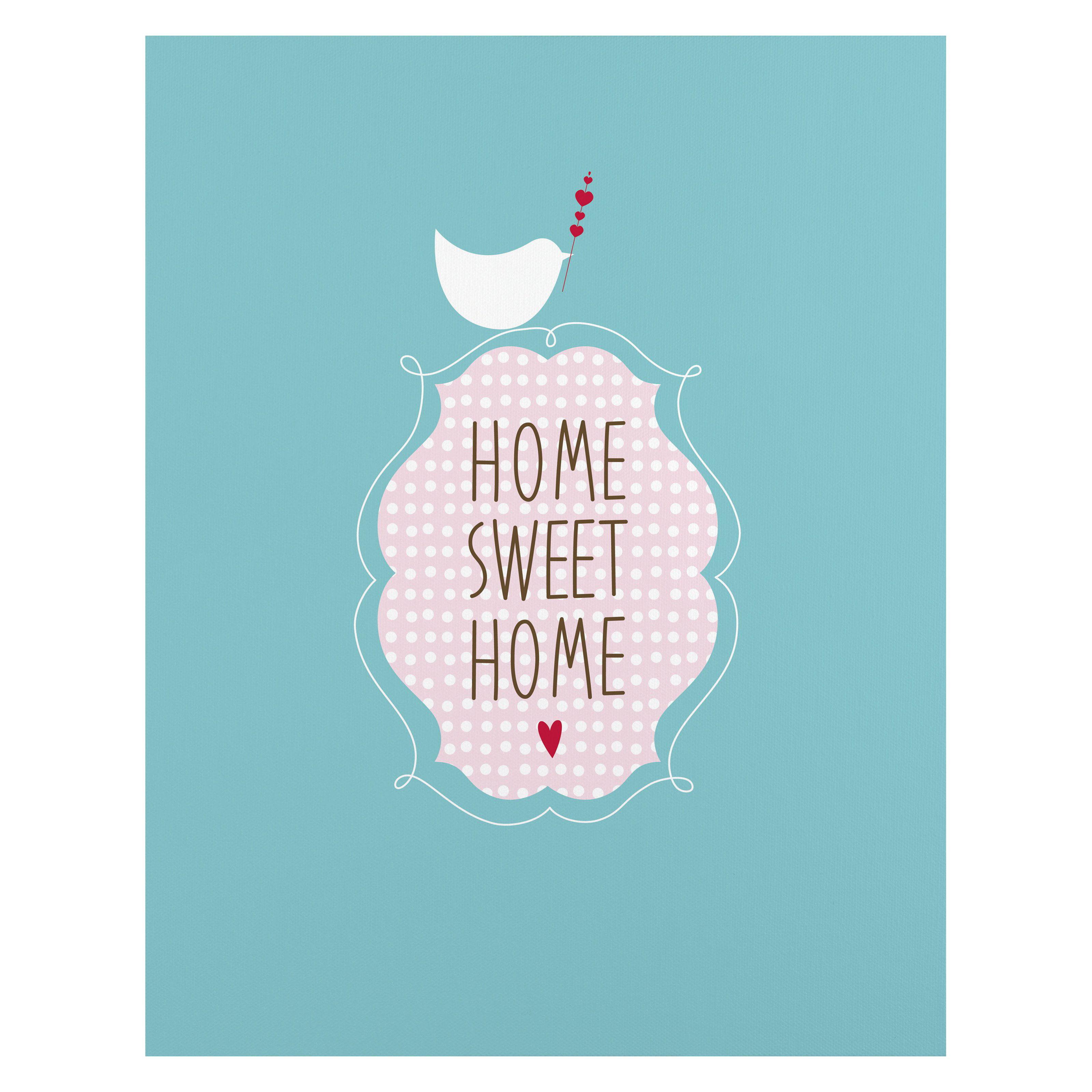 home sweet home canvas wall art walmart com