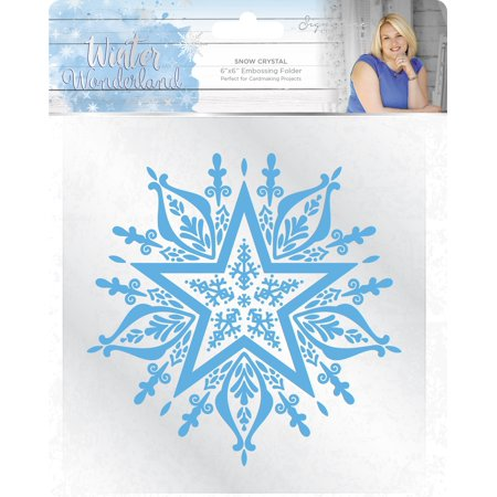 Winter Wonderland Embossing Folder 6