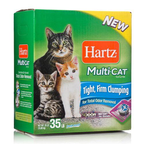 Hartz Multi-Cat Cat Litter, 35 lb