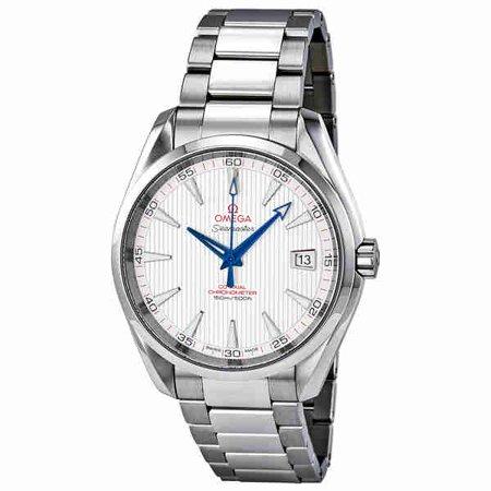 Omega Seamaster Aqua Terra Teak Mens Watch 231 10 42 21 02 002