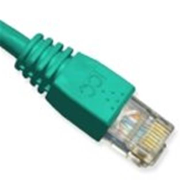 1Ft Cat5e Green Boot Patch