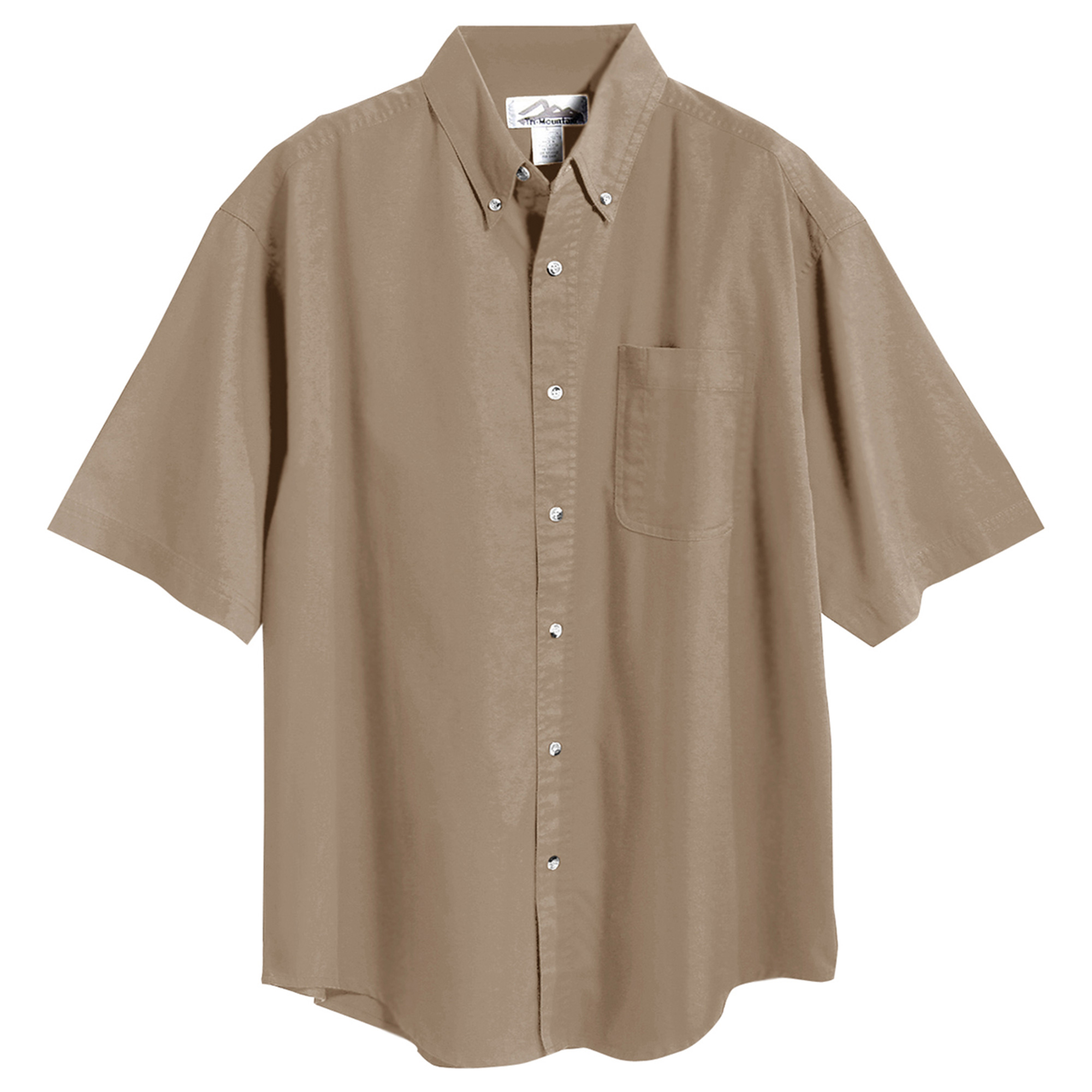 Tri-Mountain Men's Big And Tall Stain Resistant Shirt