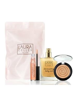 ($80 Value) Laura Geller Gilded Honey Best Sellers Makeup Gift Set