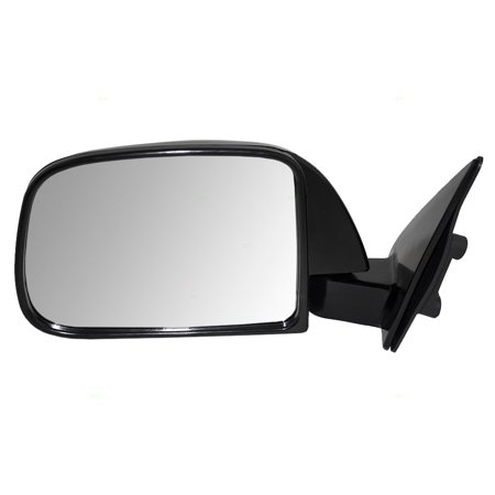 - BROCK Manual Side View Mirror Sail Mounted Driver Replacement for 89-95 Toyota Pickup Truck without vent window 8794089147
