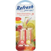 American Covers 09593 4 Pack Strawberry, Lemonade Vent Stick
