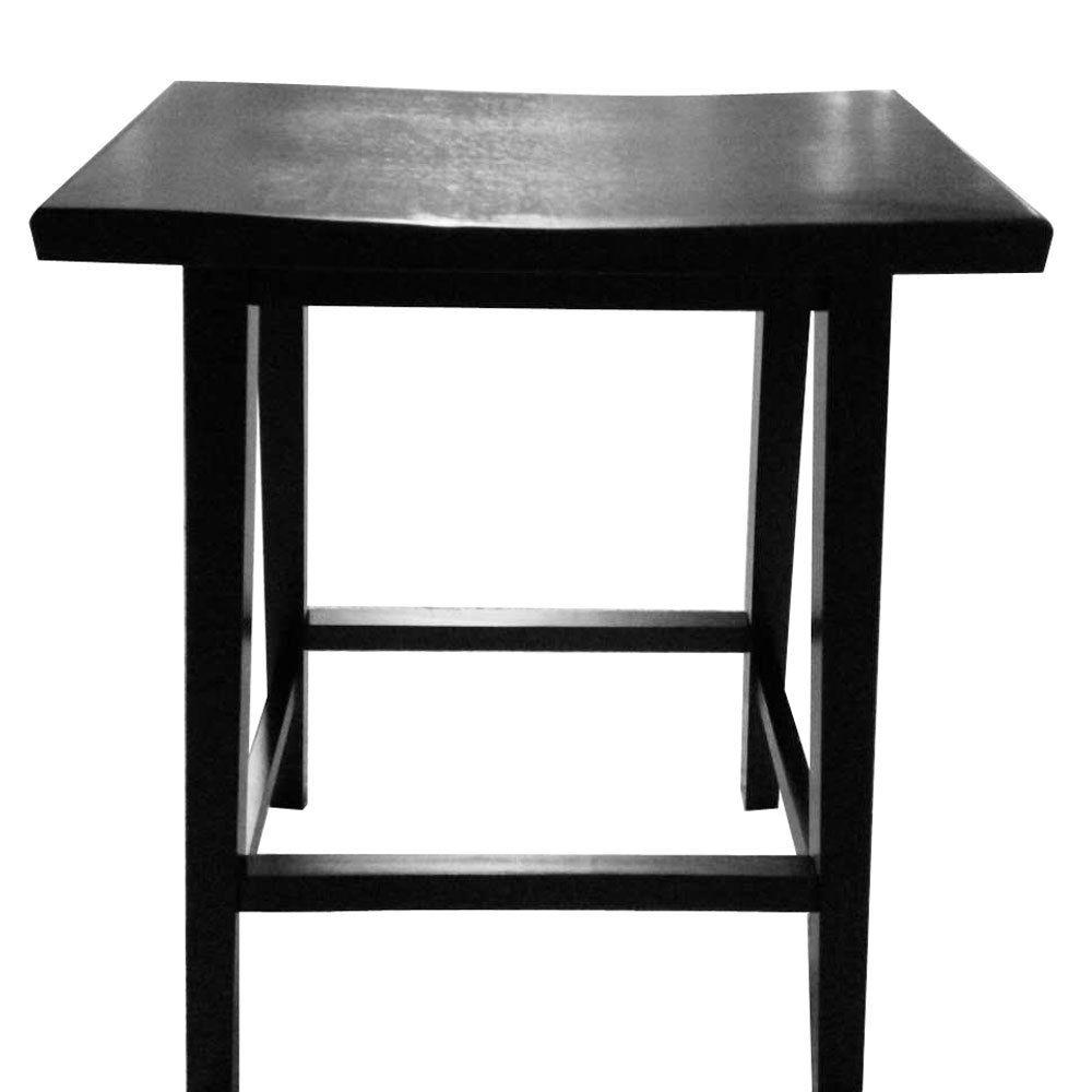 Ktaxon Set Of 2 Bar Stools Home Kitchen Dining Room Saddle