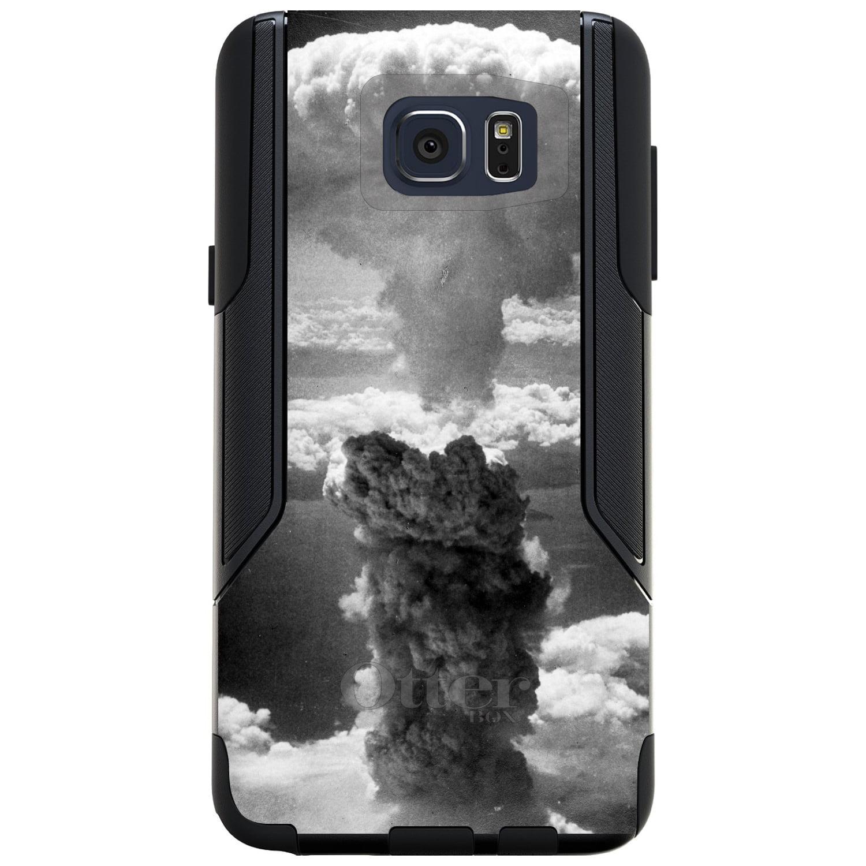DistinctInk™ Custom Black OtterBox Commuter Series Case for Samsung Galaxy Note 5 - Nuclear Mushroom Cloud