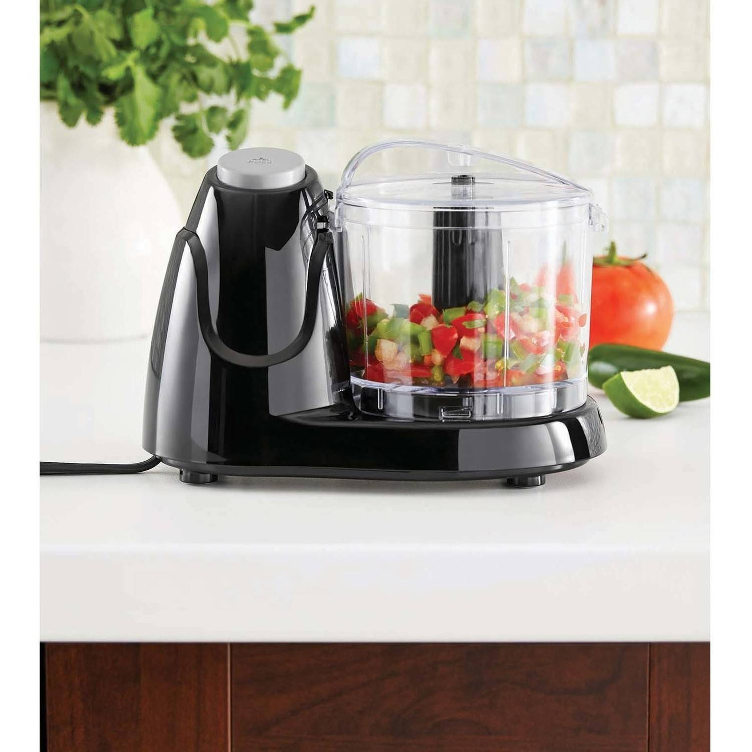 Mainstays 1.5 Cup Food Chopper, Black, FPMEMC3002 BLK