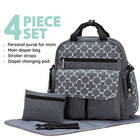 diaper bag backpack Bedford Ave 4 pieces