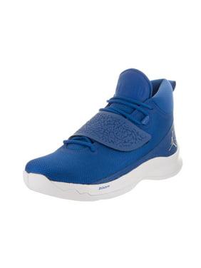 size 40 fab4e 24104 Product Image Nike Air Jordan Super.Fly 5 PO Royal Slvr-Wht Men s  Basketball Shoes