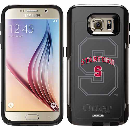Stanford University Gray Watermark Design on OtterBox Commuter Series Case for Samsung Galaxy S6