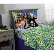 WWE Super Stars Sheet Set, Kids Bedding, 3-Piece Twin Size
