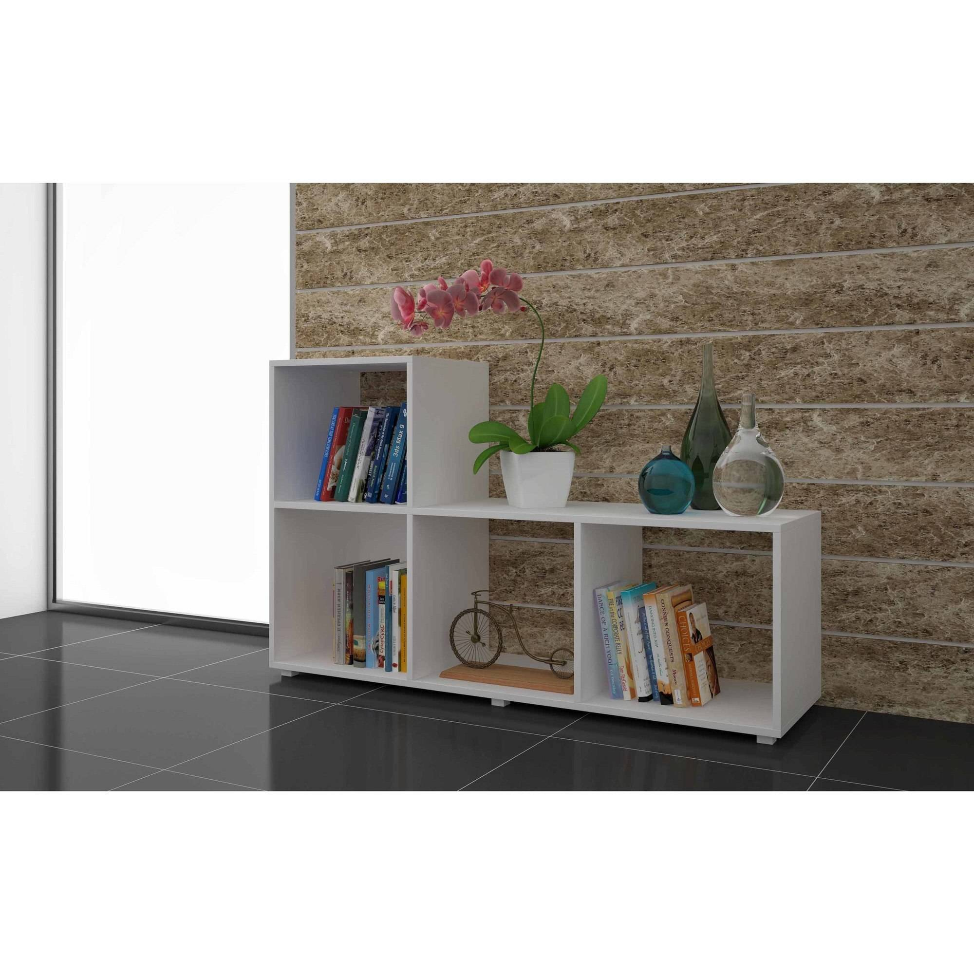 Mendocino Filbert Sleek L Cubbies, White
