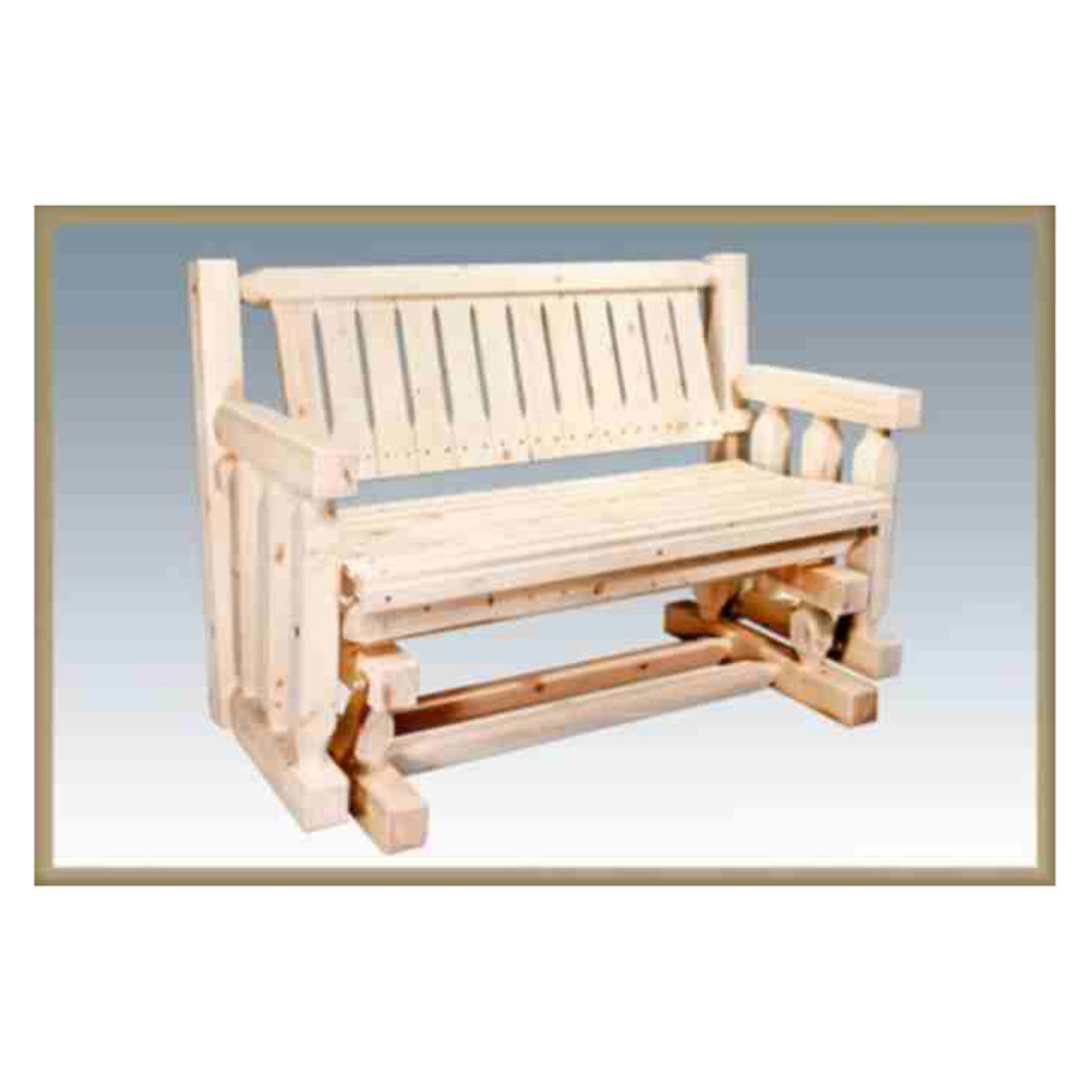 Montana Woodworks Homestead Collection Glider