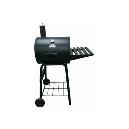 Rankam (China) Mfg CG2051014-KF Barrel Charcoal Grill, 225-Sq. In. Cooking Surface - Quantity