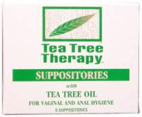 Tea Tree Suppository Tea Tree Therapy 6 Pack